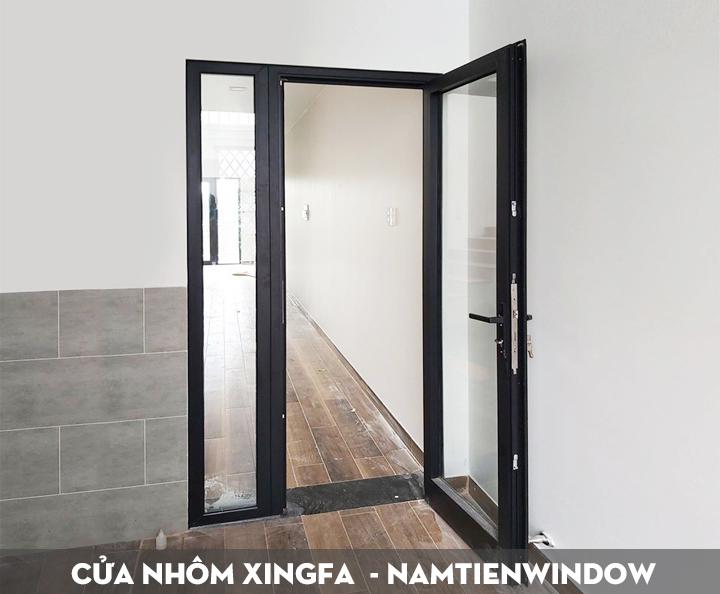 cửa nhôm xingfa 1 cánh